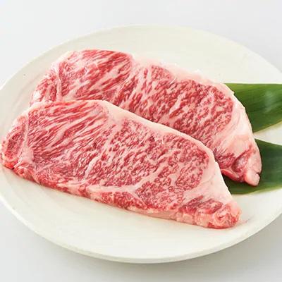 ふるさと納税 牛肉「上州牛サーロインステーキセット500g(250g×2枚)  」