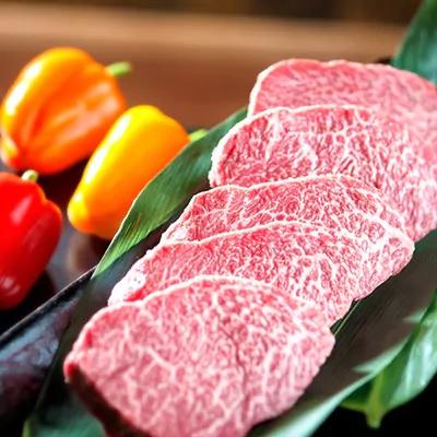 ふるさと納税 牛肉「佐賀牛赤身の極みランプステーキ500g 」
